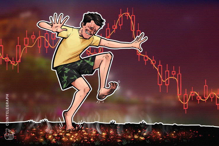 Bitcoin's Dominance Drops as BTC Price Briefly Dips Below $10K