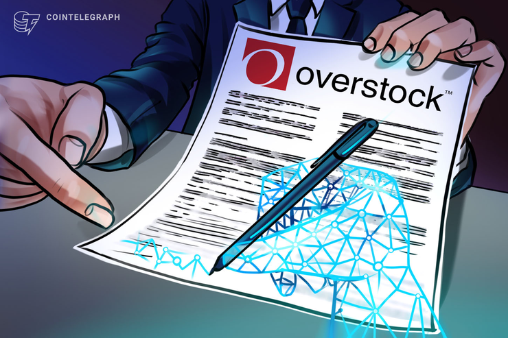 Overstock Files Blockchain-Based Stock Registration With SEC