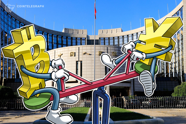 Bitcoin Hit Record Inverse Correlation to Chinese Yuan in Past Week