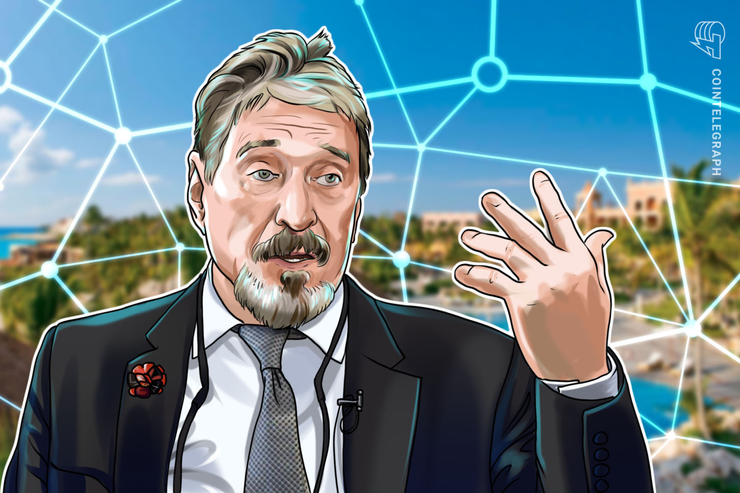John McAfee's Decentralized Crypto Exchange Launches in Beta