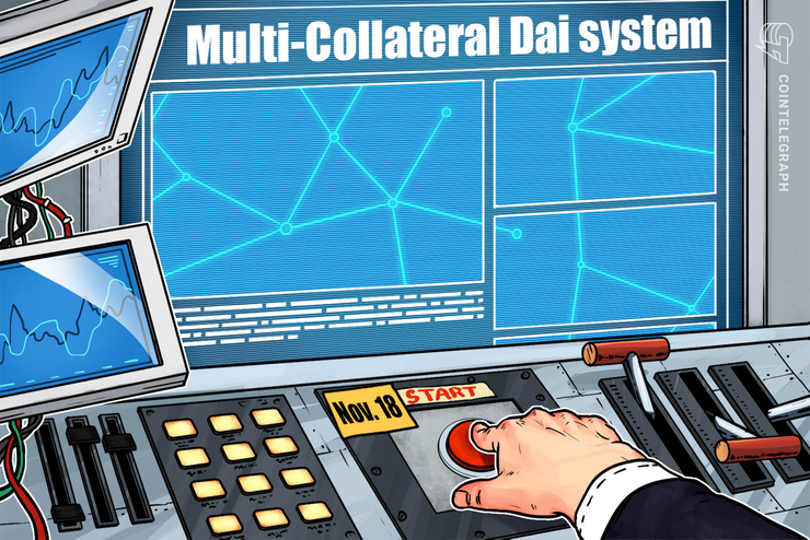 Maker Foundation's Multi-Collateral Dai to Launch on Nov. 18