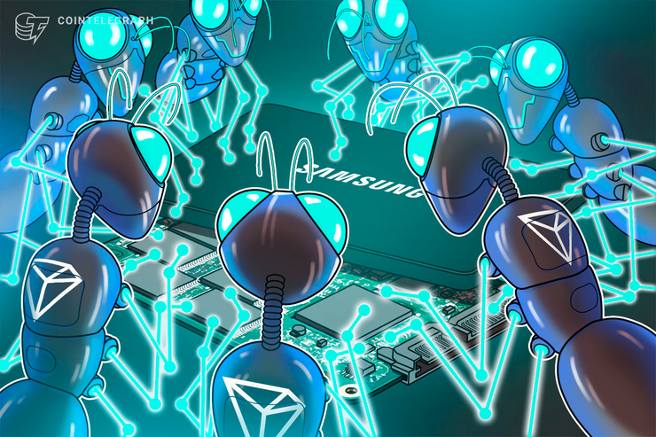 Samsung Integrates Tron and Mobile-Compatible DApp Building Tools
