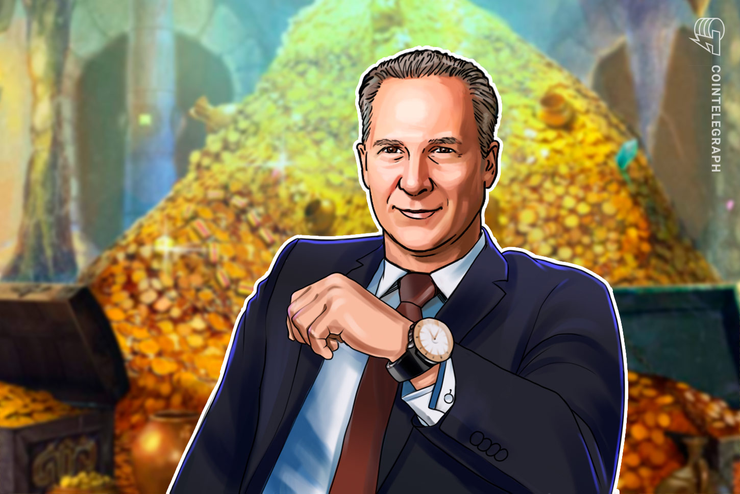 Peter Schiff Blames 'Whales' After Bitcoin Gains 30% Against Gold