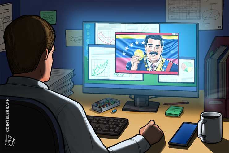 Venezuela President Maduro Touts Trezor Bitcoin Wallet on National TV