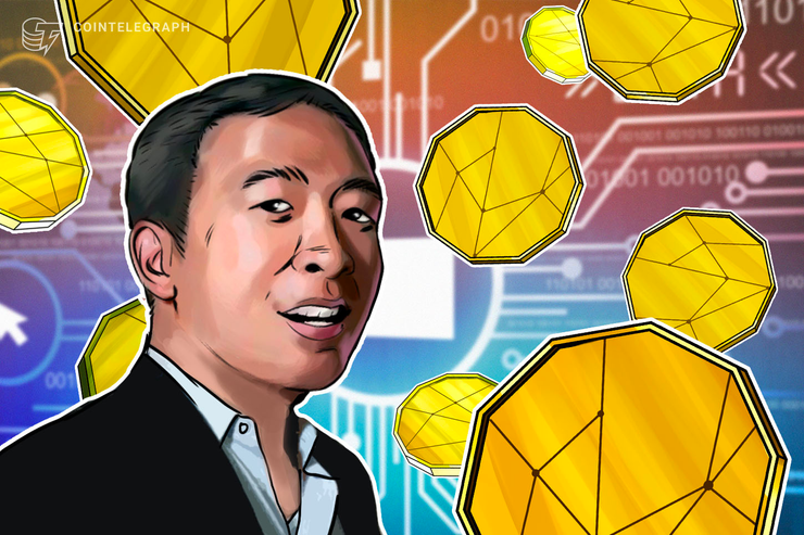 Presidential Hopeful Andrew Yang Plans to Regulate Crypto Industry
