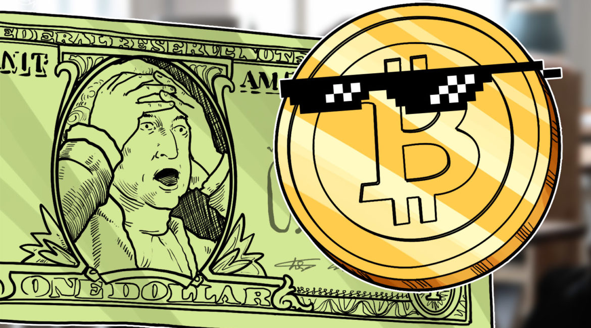 Bitcoin briefly hits $11.6K as Fed says it will let inflation pass 2%